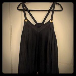 Women's strappy tunic/top, black MICHAEL KORS